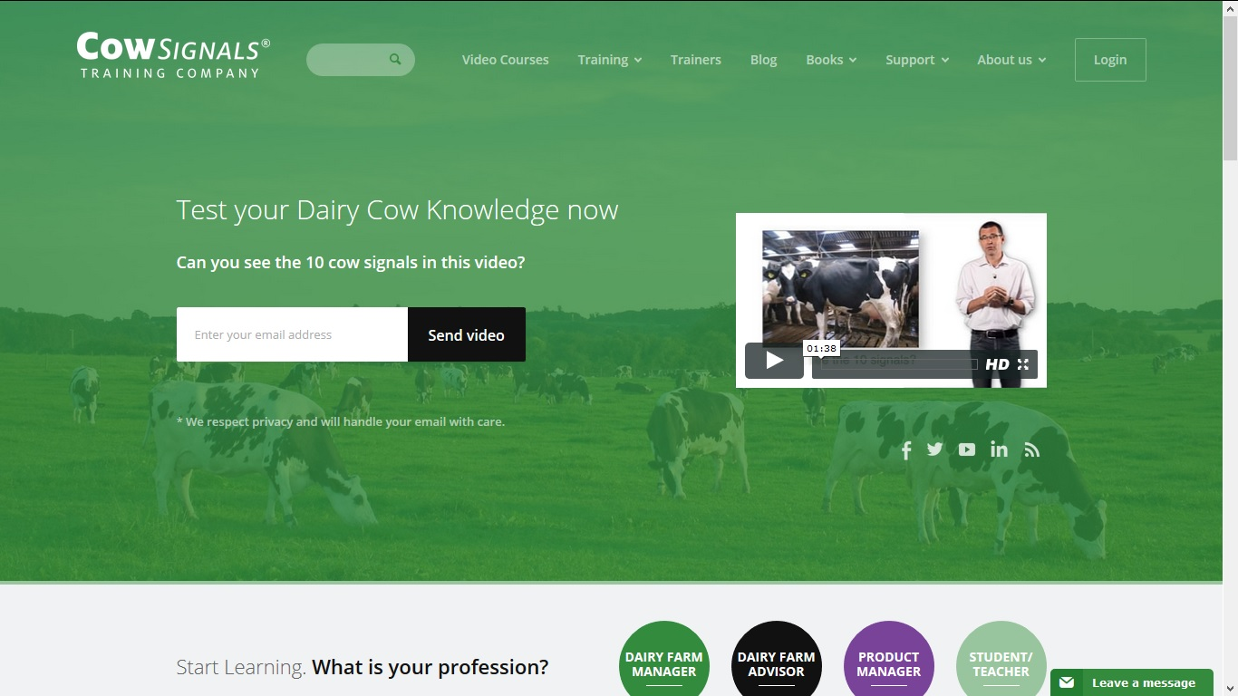 CowSignals Training Company